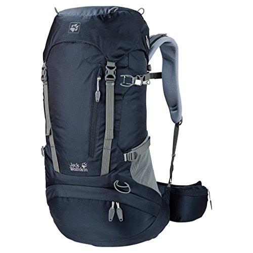 Jack Wolfskin ACS Hike Pack Rucksack, Night Blue, 38 L