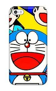 [IQnPvkK967JxRqA]premium Phone Case For Iphone 5/5s/ Doraemon Cartoon Tpu Case Cover
