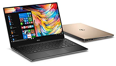 Amazon Com Dell Xps 13 9350 Gold 13 3 Inch Qhd Touchscreen Laptop