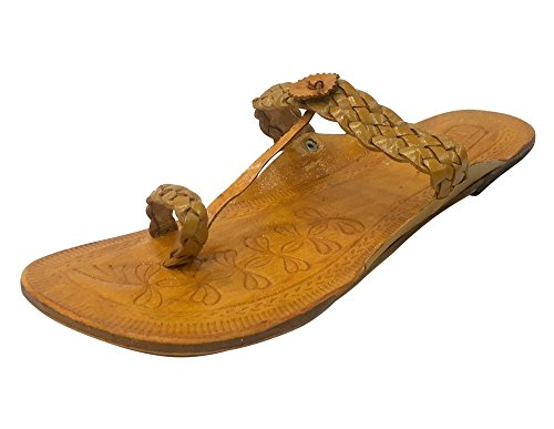 Step n Style Traditional kolhapuri Handmade Ethnic Shoes Indian Shoes Casual Slipon a3BktRvaGi