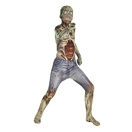 Morphsuits Kids Zombie Monster Costume - Large