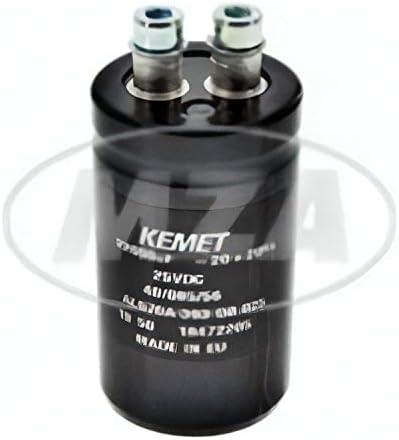 Glättungskondensator Ø35mm Kapazität 22 000 Mikrof Länge Ca 90mm Auto