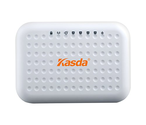 Kasda KW55293 300Mbps Wi-Fi 11N Wireless Router 4 Fast Ethernet Ports Built-in 2TX2R Antennas Support IPv6 WDS WPS by Kasda