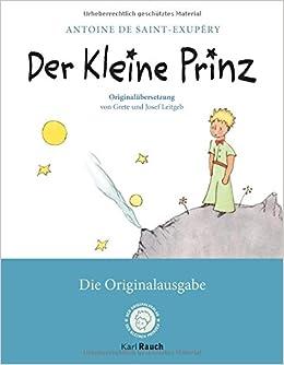 Der Kleine Prinz Die Originalausgabe Mit Den Farbigen