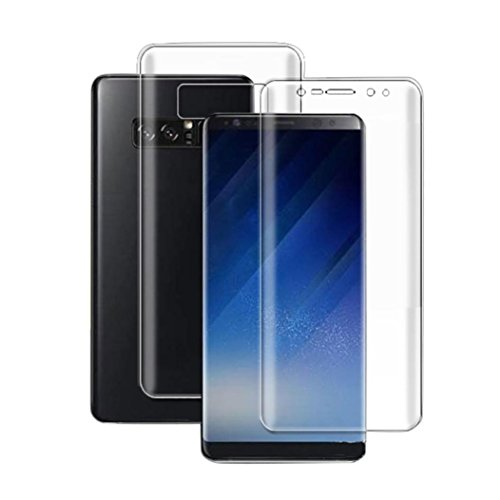 - Nesee Front+Back Explosion-proof Screen Protector Full Film For Samsung Galaxy Note 8 (6.3 inch, Clear)