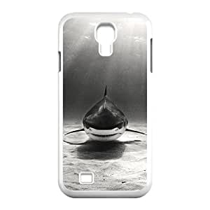 D-PAFD Customized Deep Sea Shark Pattern Protective Case Cover Skin for Samsung Galaxy S4 I9500