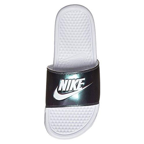 Bajas Print Wmns Nike Jdi white Blanco Mujer Benassi Zapatillas Para 107 white 6XBxq7Zw
