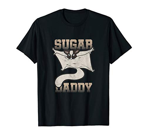 Cool Sugar Glider Daddy Animal Pet Owner T-Shirt T-Shirt