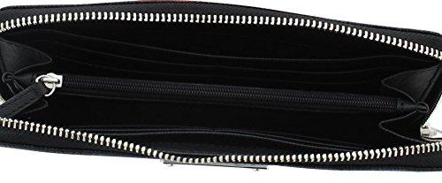Michael Kors Black Pvc Continental Wallet