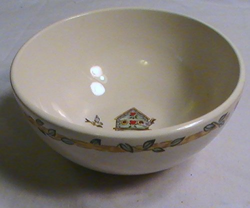 - Thomson Pottery Birdhouse Coupe Soup/Cereal Bowl - One Bowl