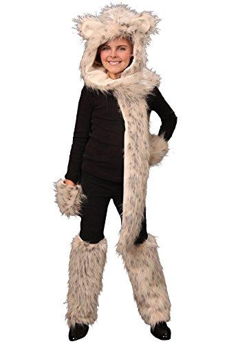 Costumes Leopard Tween (Princess Paradise Sable the Snow Leopard Costume Set, Tween One)
