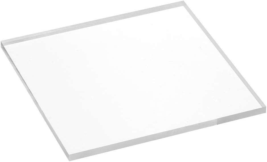 Acrylplatte 100x100x4mm transparent rundum gl/änzend polierte Seitenkanten//Acryl//Acrylglas//Acrylscheibe Zeigis/®