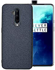 Proze OnePlus 7T Pro Phone Case - Fabric Finish Shockproof Cover for 1+ 7T Pro