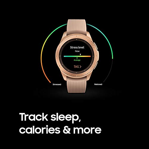 Samsung Galaxy Watch (42mm, GPS, Bluetooth) – Rose Gold (US Version) 6