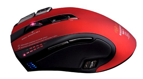 Shogun Bros. Ballista MK-I 82 Wired Pro 8200dpi Commander Series Gaming Mouse
