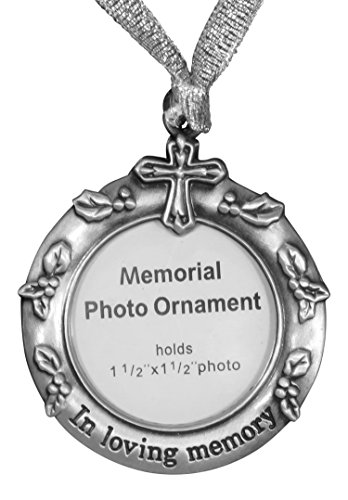 Price comparison product image Ganz Remembrance Memorial Photo Ornament (in Loving Memory)
