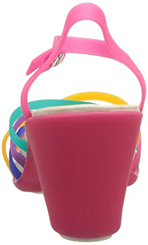 Mujer de Sandalias para Huarache Multi W Vestir Candy Crocs Pink sintético Multicolore de xqfwgn8H