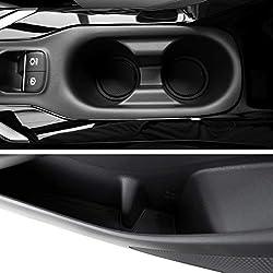 Custom Fit Cup, Door, Console Liner Accessories Kit for Toyota Corolla Sedan 2020 2021 2022 11PC Kit (Sedan, Solid Black)