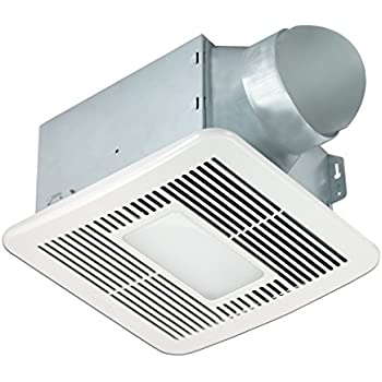 bathroom exhaust fan with night light delta breezsmart smt150led 150 cfm exhaust bath fan led 24871