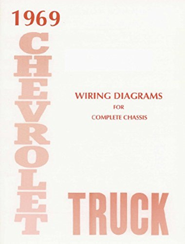 Oem Diagram Wiring Electrical (bishko automotive literature 1969 Chevrolet Truck Electrical Wiring Diagrams Schematics Mechanic OEM Book)