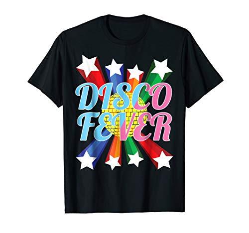 Shirt Dance Fever - Disco Shirt Gift Retro Music Disco Dance Fever Tshirt