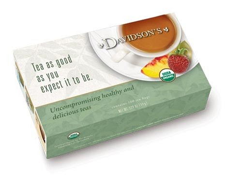 Unwrapped teabags, Green Tea Garden, Box 100