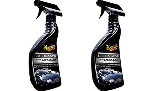 Meguiar's G14422 Ultimate Quik Detailer - 22 oz. - Premium Spray Detailer - 2 Pack