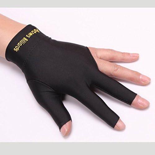 ZXJOY - Guantes de billar con 3 dedos para hombre y mujer, para ...