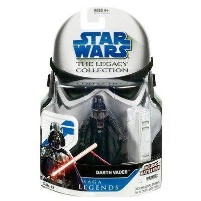Star Wars Clone Wars Saga Legends Action Figure SL No. 13 Darth Vader (style and colors may (Star Wars The Clone Wars Darth Vader)