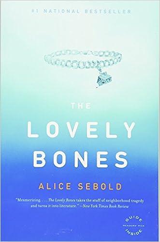 Image result for lovely bones book