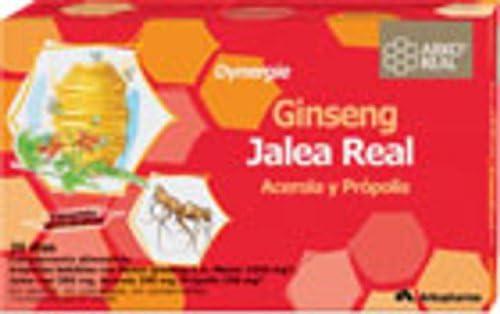 ARKOPHARMA Ginseng + Jalea Real Fresca: Amazon.es: Salud y cuidado ...