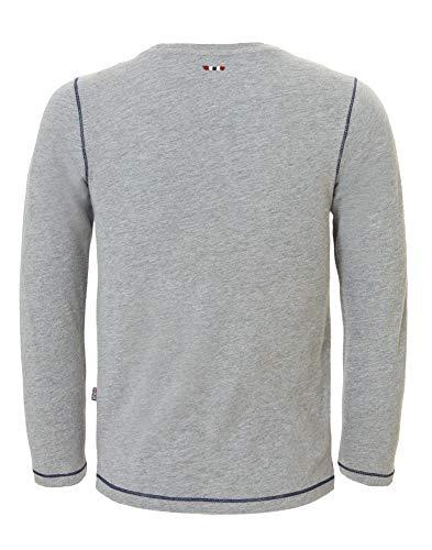 Femme Napapijri shirt med 160 Gris Garçon T Sion Grey Mel n4nqxrOwa