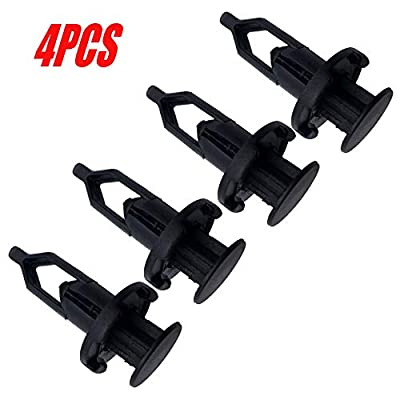 ALLMOST Pack of 4 Tailgate Cap Top Protector Molding Retainers Clips fit for 2007-2020 Toyota Tundra: Automotive