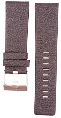 26mm Leather Suitable For DZ1183 DZ1347 DZ1272 DZ4343 Watches Band Strap (brown) (Diesel Leather Strap Watch)