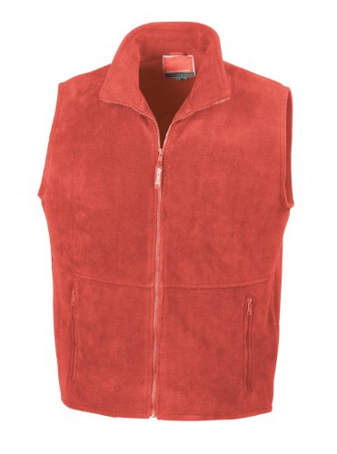 Polartherm Rouge Hombre Result Rouge Chaleco para Bodywarmer TM dUxFwfqC