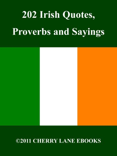 Irish Quotes Fascinating Amazon 48 Irish Quotes Proverbs And Sayings EBook Cedric