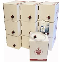 Long Term Water Storage System, BPA Free Water Bags, 5 Year Shelf Life, 50 Gallon Set