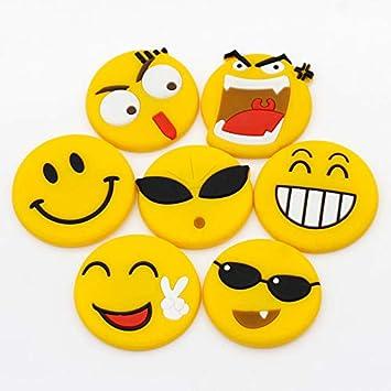100 Piezas Imanes de Nevera, Pegatina Lindo, 3D Smiley Emoji ...
