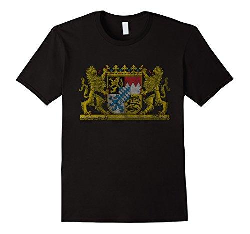 mens-vintage-bavaria-coat-of-arms-germany-t-shirt-2xl-black