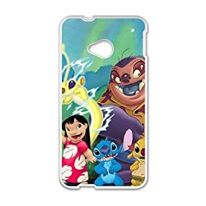 HTC One M7 Phone Case White Lilo and Stitch UYUI6771483