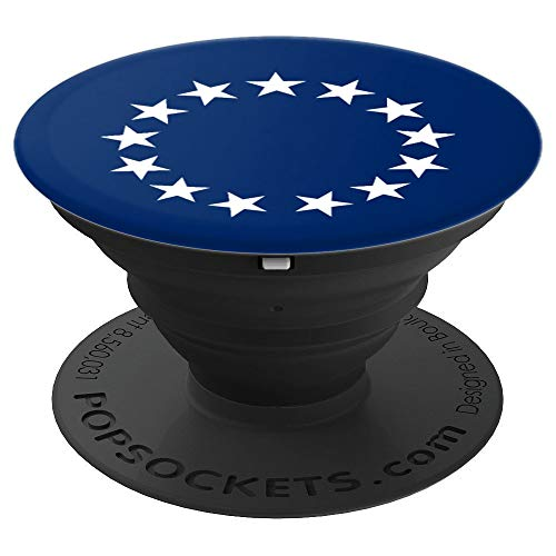 Betsy Ross First American Flag Halloween Costume PopSockets Grip and Stand for Phones and -