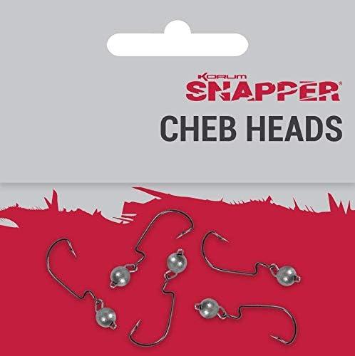 Korum Snapper Cheb Jig Heads