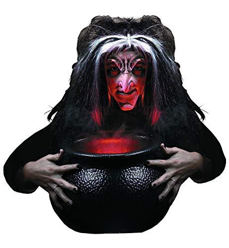 Rubie's Reel F/X Evil Witch Kit, Red, One Size ()