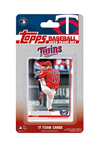 Minnesota Twins 2019 Topps Factory Sealed Special Edition 17 Card Team Set with Jose Berrios and Miguel Sano Plus (Special Edition Cards)