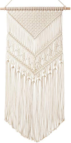 Mkono Macrame Wall Hanging Art Woven Tapestry Boho Home Decor Apartment Dorm Room Decoration, 17