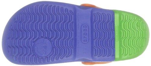 Bleu Sabots sea Blue Enfant Electro lime Mixte Kids Crocs THnxqXvwBC