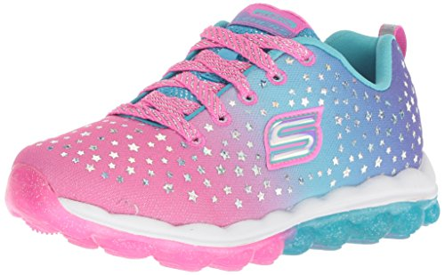 Skechers Kids Girls' Skech-AIR-Star Dreamer Sneaker Multi 4 Medium US Big Kid