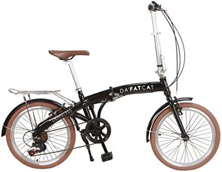 DaFatCat Bicicleta Plegable de diseño Dean 1955, 6 velocidades ...