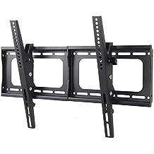 Husky Mount TV Bracket Fits most 32 39 40 42 46 47 50 52 55 60 65 70 72 Inch LED LCD Plasma Flat Screen Up To VESA 600X400 Tilting Heavy Duty TV Wall Mount Loads 132 LBS!