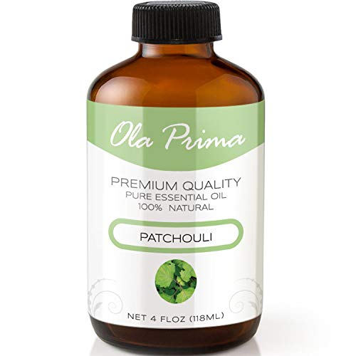 4oz - Premium Quality Patchouli Essential Oil (4 Ounce Bottle with Dropper) Therapeutic Grade Patchouli Oil